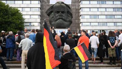 Angry mobs take to the streets in Germany