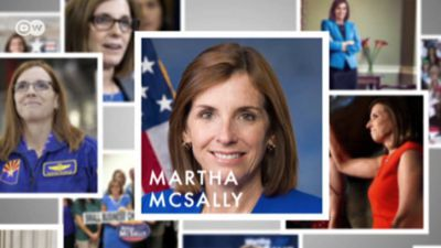 Female candidates in US midterms: Martha McSally