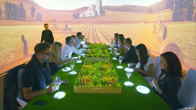 Gourmet spectacle: Dining for 1,500 euros