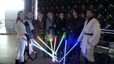 Training to be a Jedi in Moscow's lightsaber school