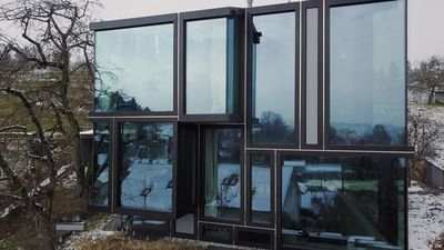 Living in a glass house in Zurich