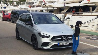 Present it!: Mercedes B-Class