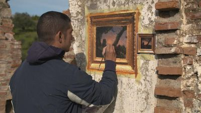 Old Masters inspire street art