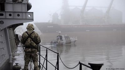 Blockade in the Sea of Azov