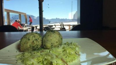 South Tyrolean cuisine in an alpine chalet