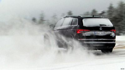 The Skoda Kodiaq vs. winter weather