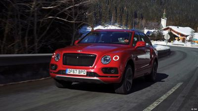 Luxury off road: Bentley Bentayga V8