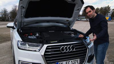 A thriftier SUV: the Audi Q7 plug-in hybrid