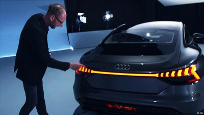 Inside it!: Audi e-tron GT Concept