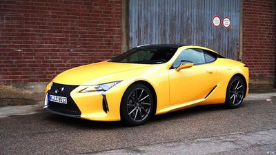 Power-Packed: The Lexus LC 500