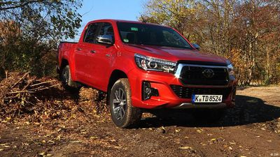 Popular pickup: Toyota Hilux