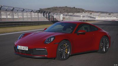 Present it! The Porsche 911 Carrera 4S