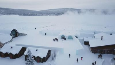 Europe to the max: A night in an ice hotel