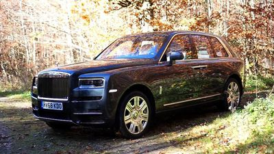 Test it! the Rolls Royce Cullinan