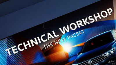 Examine it!: the VW Passat Goes High-Tech