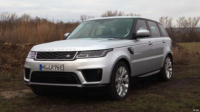 Present it! the Range Rover Sport P400e