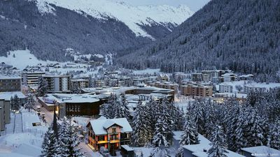 Winter sports around Davos