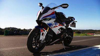 Super speedy: BMW S1000RR Motorbike