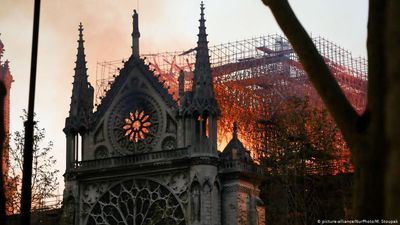 France: Notre Dame After the Fire