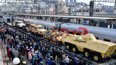 Russia: Syrian War trophies on tour