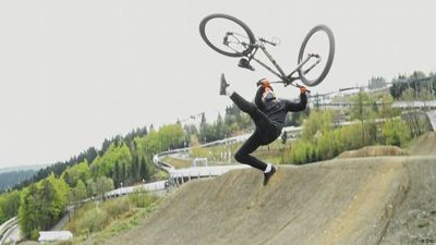 Slopestyle: Bicycle flips