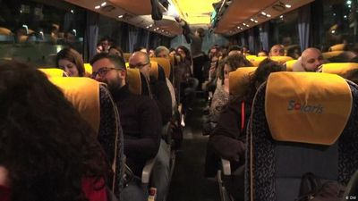 Italy: Bus of hope for job seekers