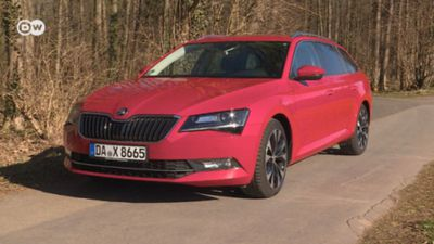 Roomy: Skoda Superb Station Wagon