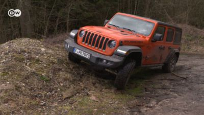 Rugged: Jeep Wrangler