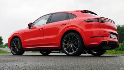 Fast and beautiful - the Porsche Cayenne coupe