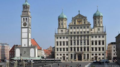 A city portrait of Augsburg