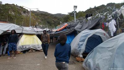 Greece: Refugees suffering on Samos