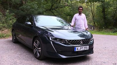 Tradition with a twist: Peugeot 508 SW