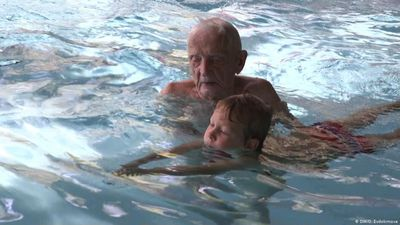 Germany: Swimming instructor at 102