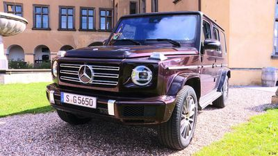 Examine it! Mercedes G-Class