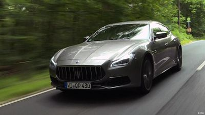 Maserati Quattroporte - heated discussion about hot car