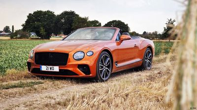 Thrilling: Bentley Continental Convertible