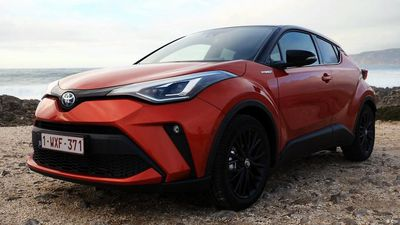 Present it: Toyota C-HR