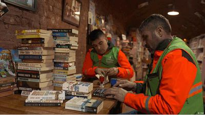 Turkey: the garbage-truck library