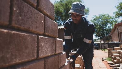 South Africa: Brick replaces corrugated iron