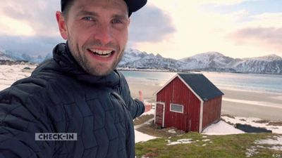 Backpacker Steve Hanisch visits Lofoten
