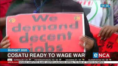 Budget 2020: Cosatu ready to wage war