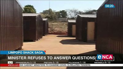 Minister refuses to answer question on Limpopo shack saga