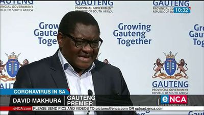 Gauteng not yet out of the woods