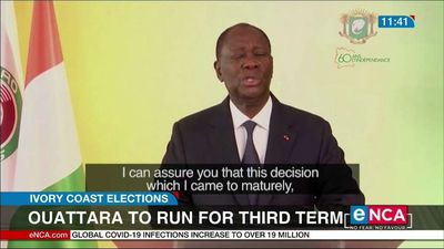 Ouattara to run for third term in Ivory Coast elections