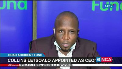 Collins Letsoalo appointed as the CEO of RAF