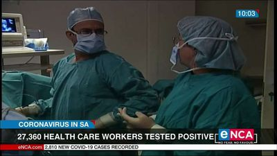 27,360 health care workers have tested positive