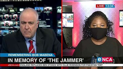 In memory of 'The Jammer' Bob Mabena