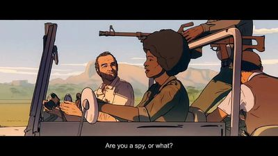 "Cinema - ""Another Day of Life"" tells the animated story of the Angolan War"