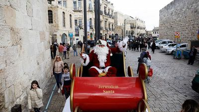 World News - Bethlehem enjoys busiest Christmas season on record