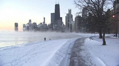 World News - Polar vortex brings temperatures as low as -29 Celsius to US Midwest